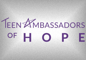 Teen Ambassadors of Hope